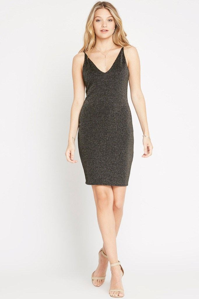 Poshsquare Dress S / Black First Impression Dress