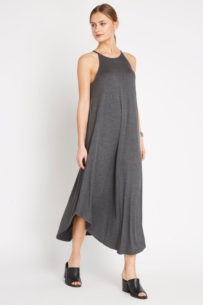 Poshsquare Dress Spaghetti Strap Maxi  Dress