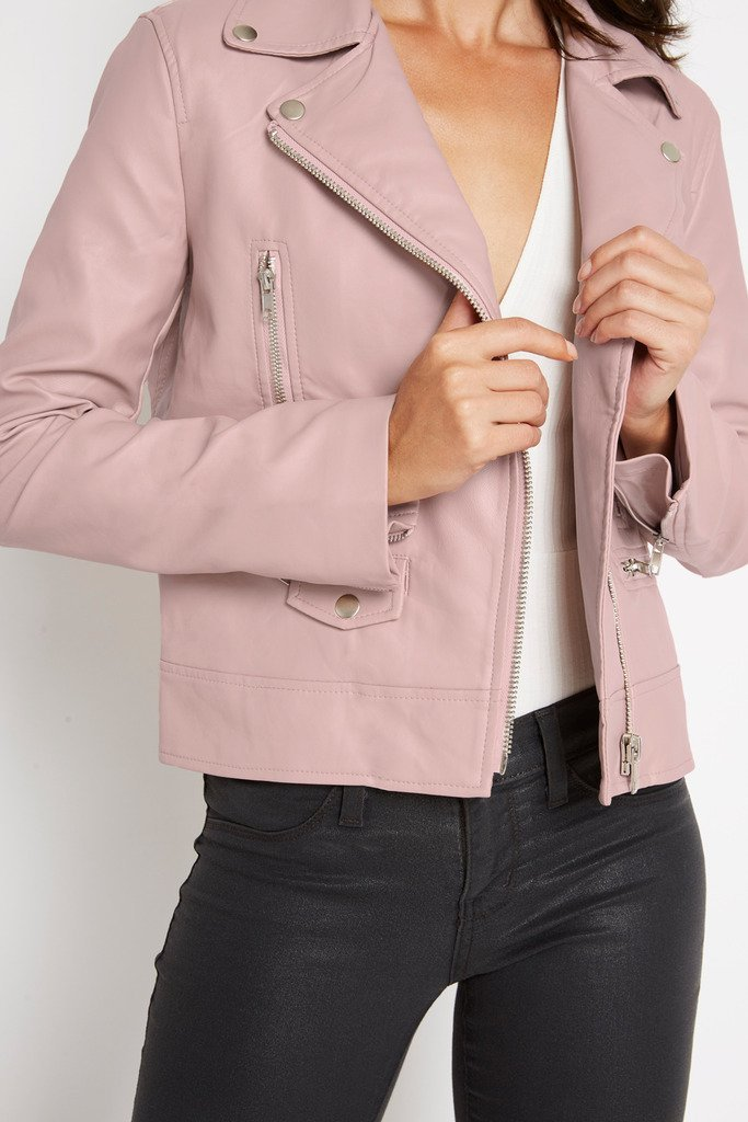 Poshsquare Outerwear No Boundaries Faux Leather Jacket