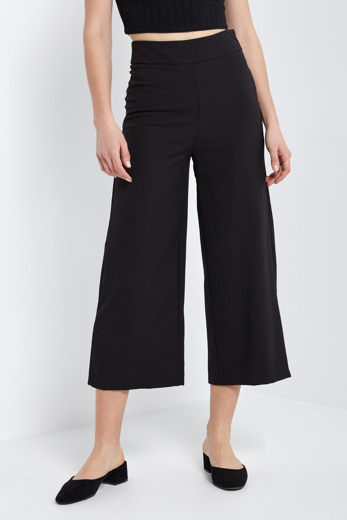 Poshsquare Pants M / Black Warner Culottes