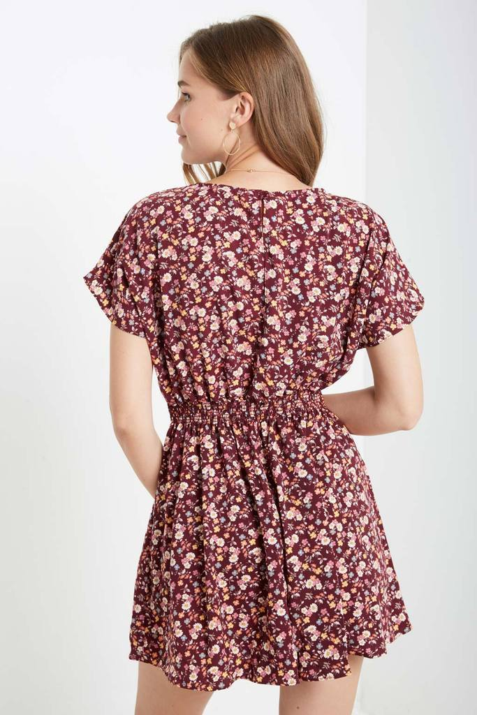 Poshsquare Romper Petals In The Wind Romper