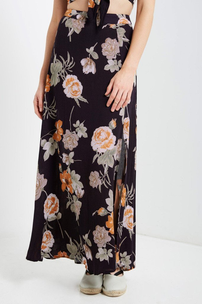 Poshsquare Skirts Cam Floral Maxi Skirt