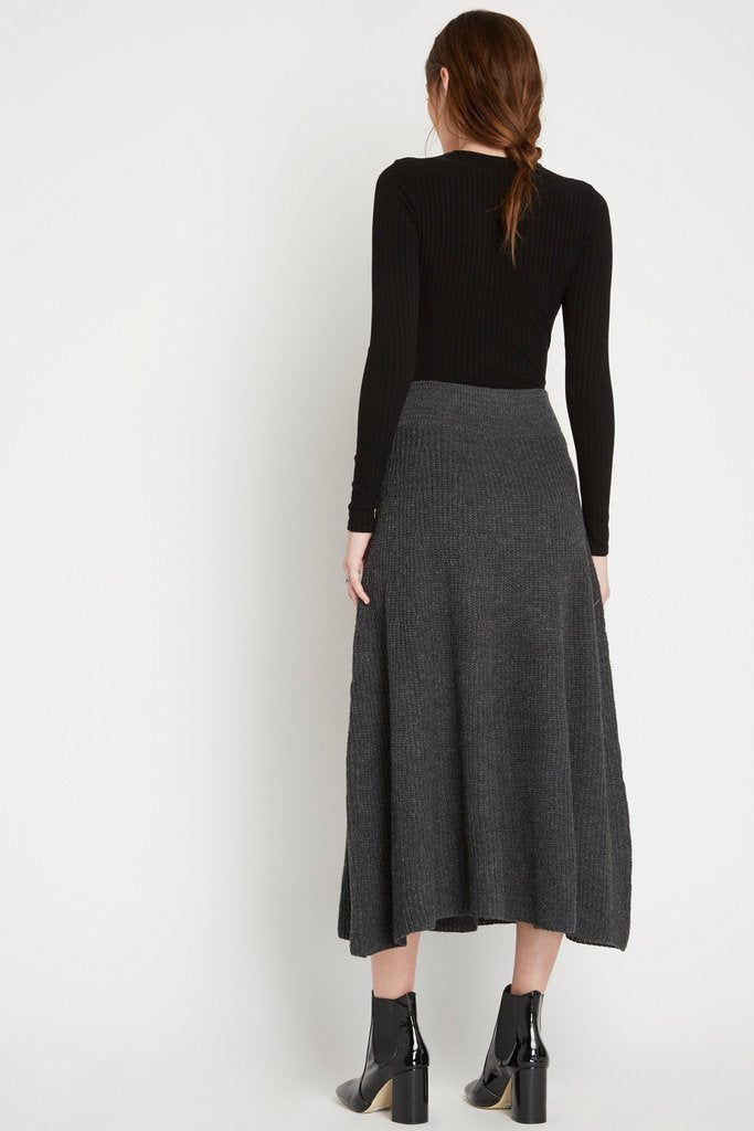 Poshsquare Skirts Downtown Sweater Knit Maxi Skirt