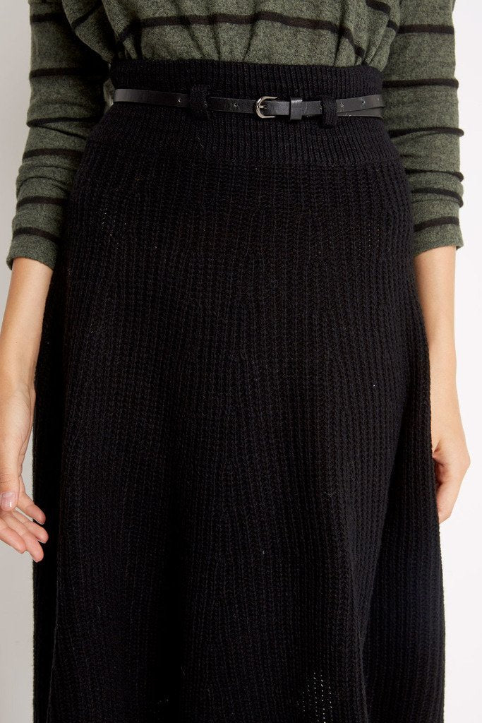 Poshsquare Skirts Sweater Weather Belted Skirt