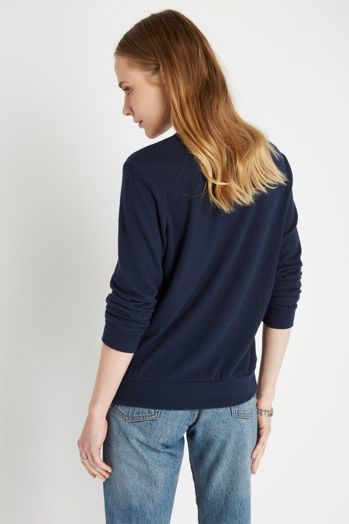 Poshsquare Tops Always Cozy Brushed Pullover Sweater