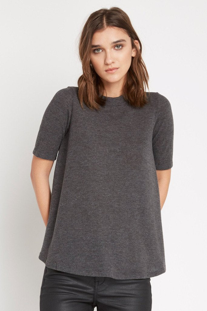Poshsquare Tops In Theory Mock Neck Sweater Top