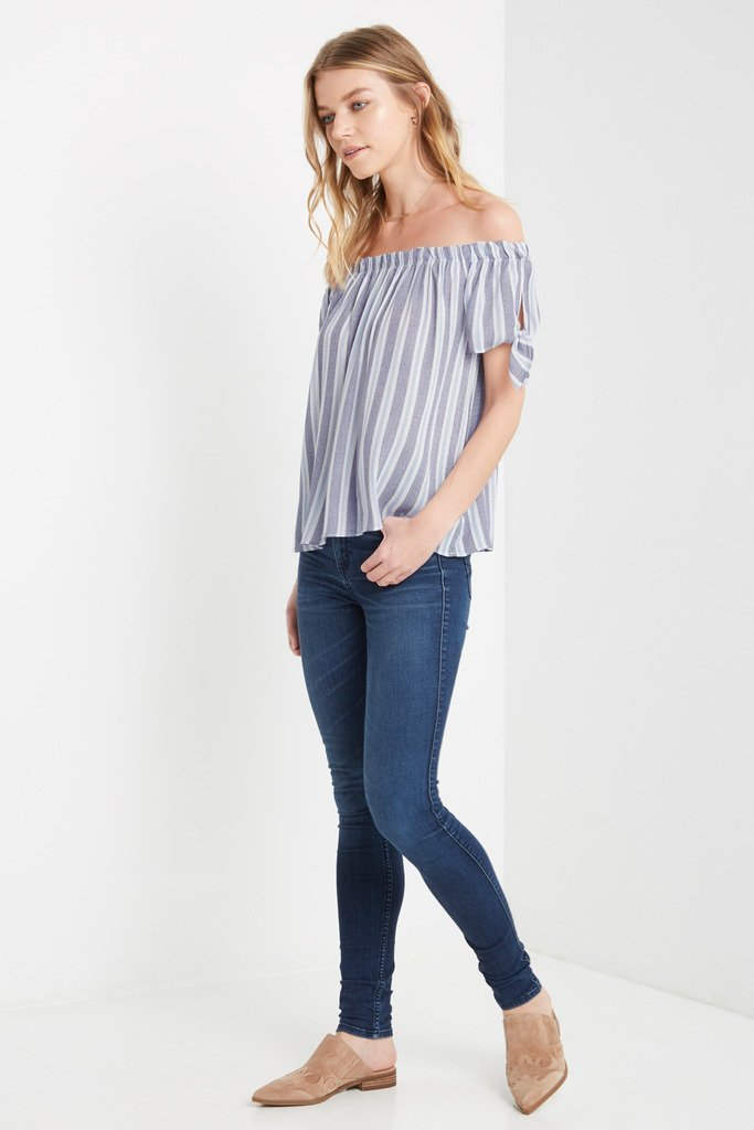 Poshsquare Tops Mona Off the Shoulder Top
