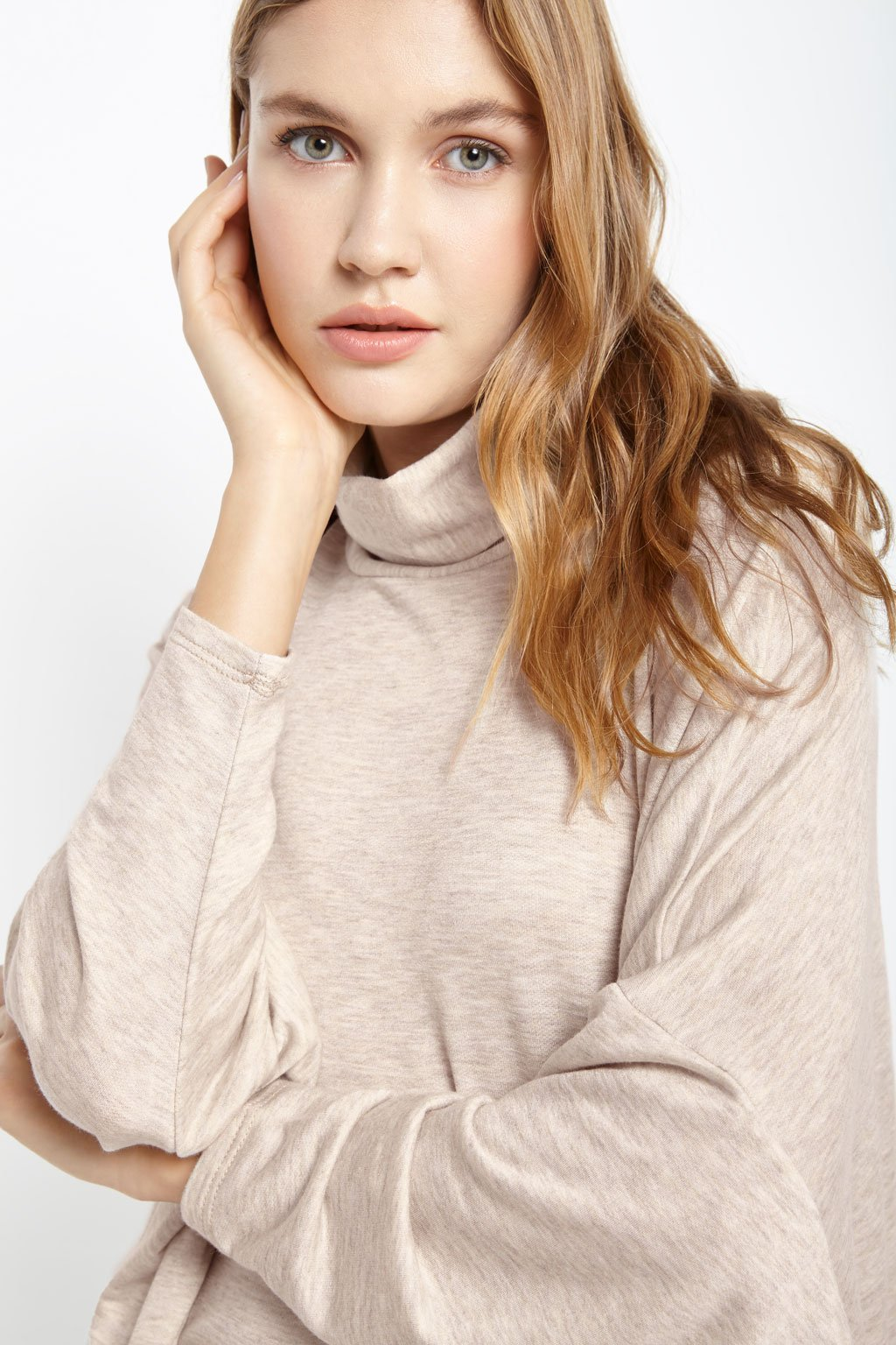 Poshsquare Tops Midge Turtleneck Top