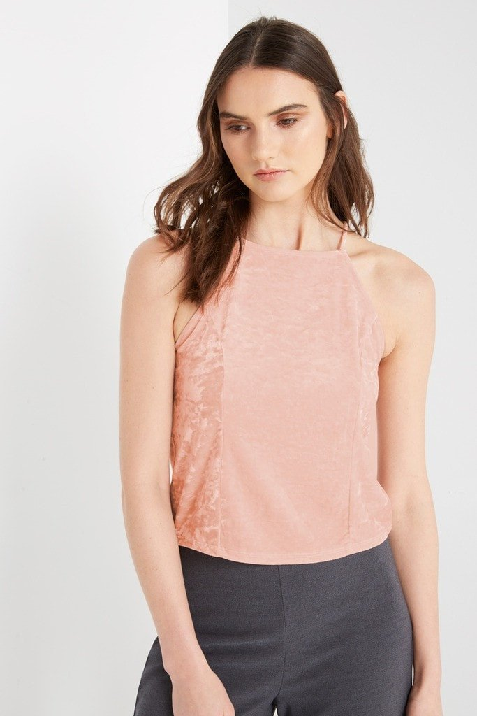 Poshsquare Tops S / Candle Necessary Velvet Top