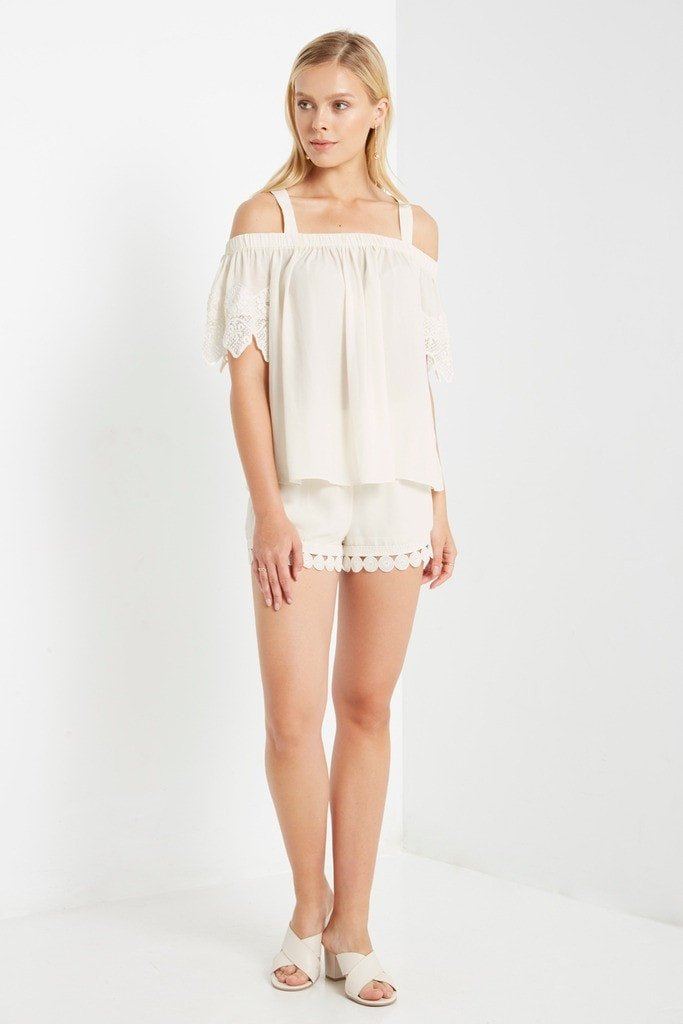 Poshsquare Tops Selene Short Sleeve Top