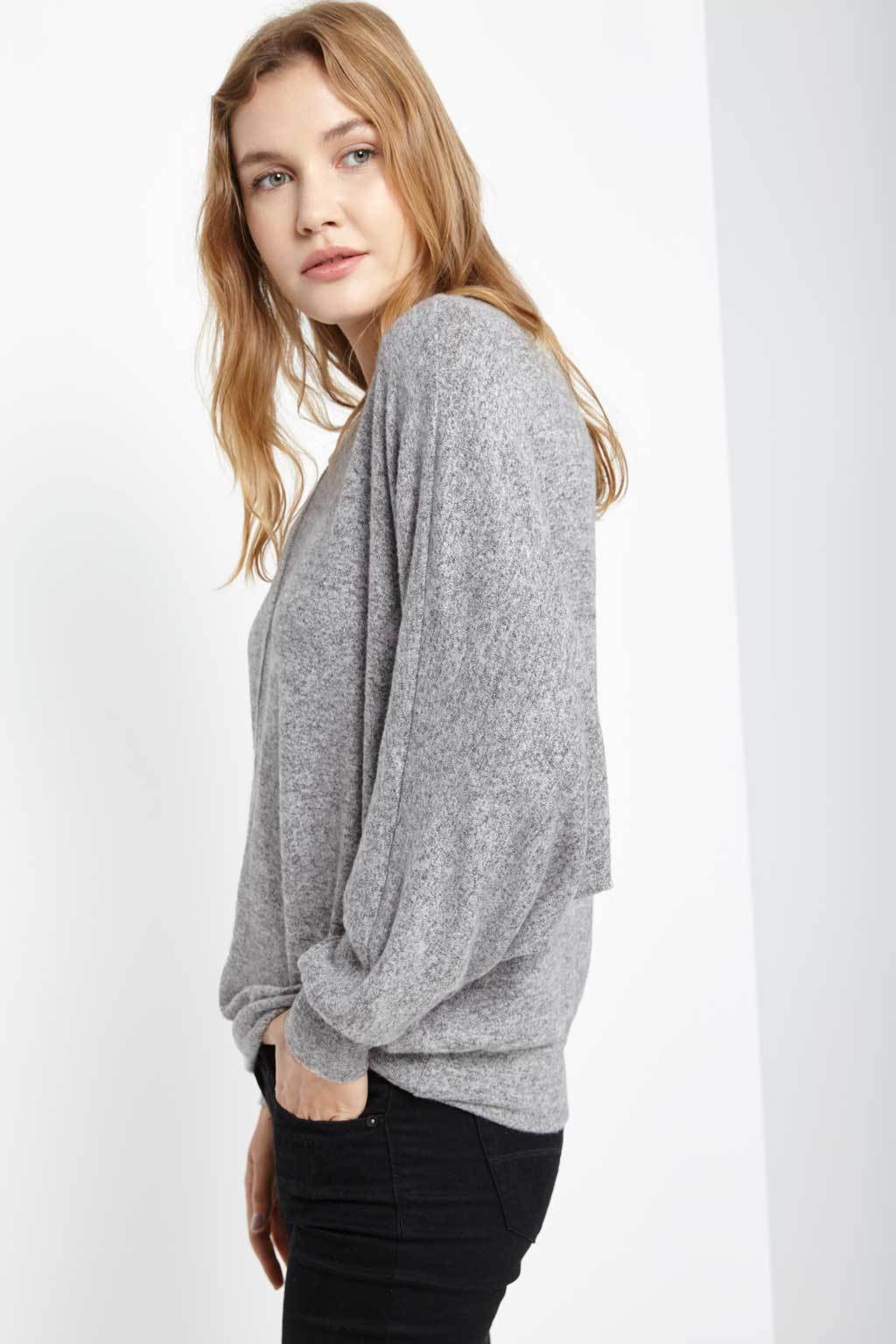 Poshsquare Tops Wells Dolman Sleeve Top