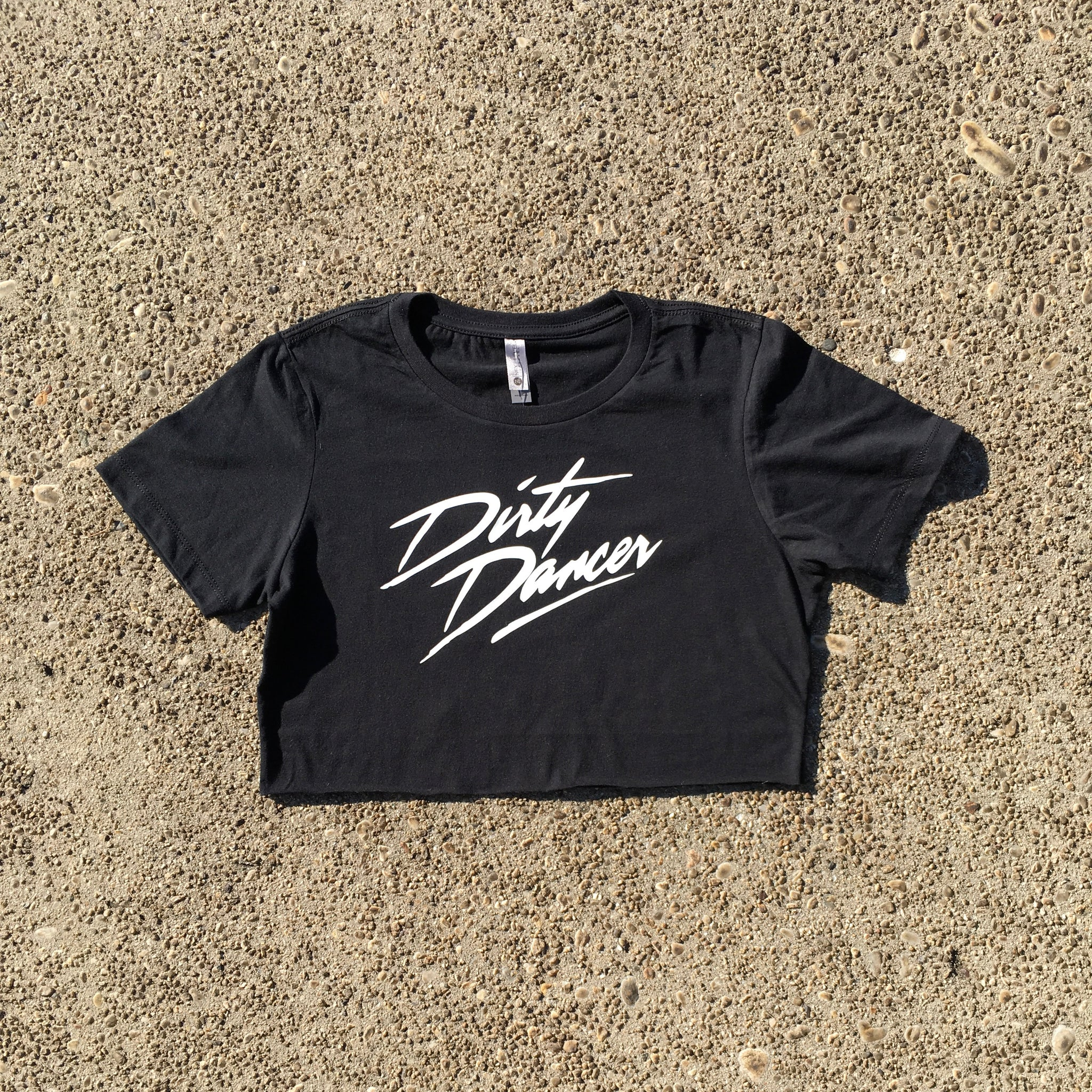 Dirty Dancer cropped t-shirt