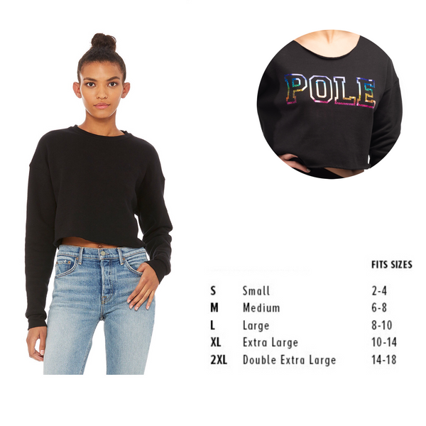 Pole or Dancer Cropped Sweatshirt