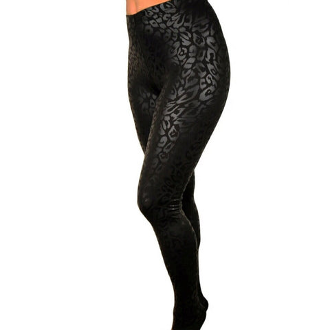 Fierce Cheetah High Waisted Leggings