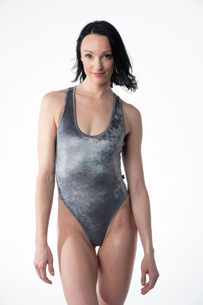 Frost Bitten Velvet Cleotard With Scrunch Butt- various colors