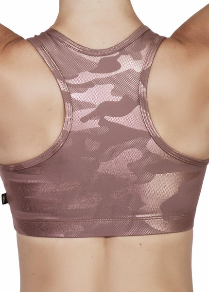 G.I. JADE Glamoflage Racer Back Top- Various Colors