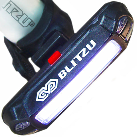120H USB Rechargeable Bike Headlight - Blitzu - 1