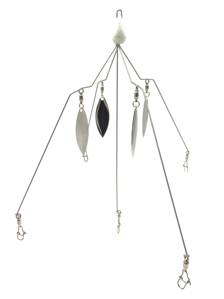 Throw-N-Thunder Titanium Wire Wolf Pac 5 wire Umbrella Rig