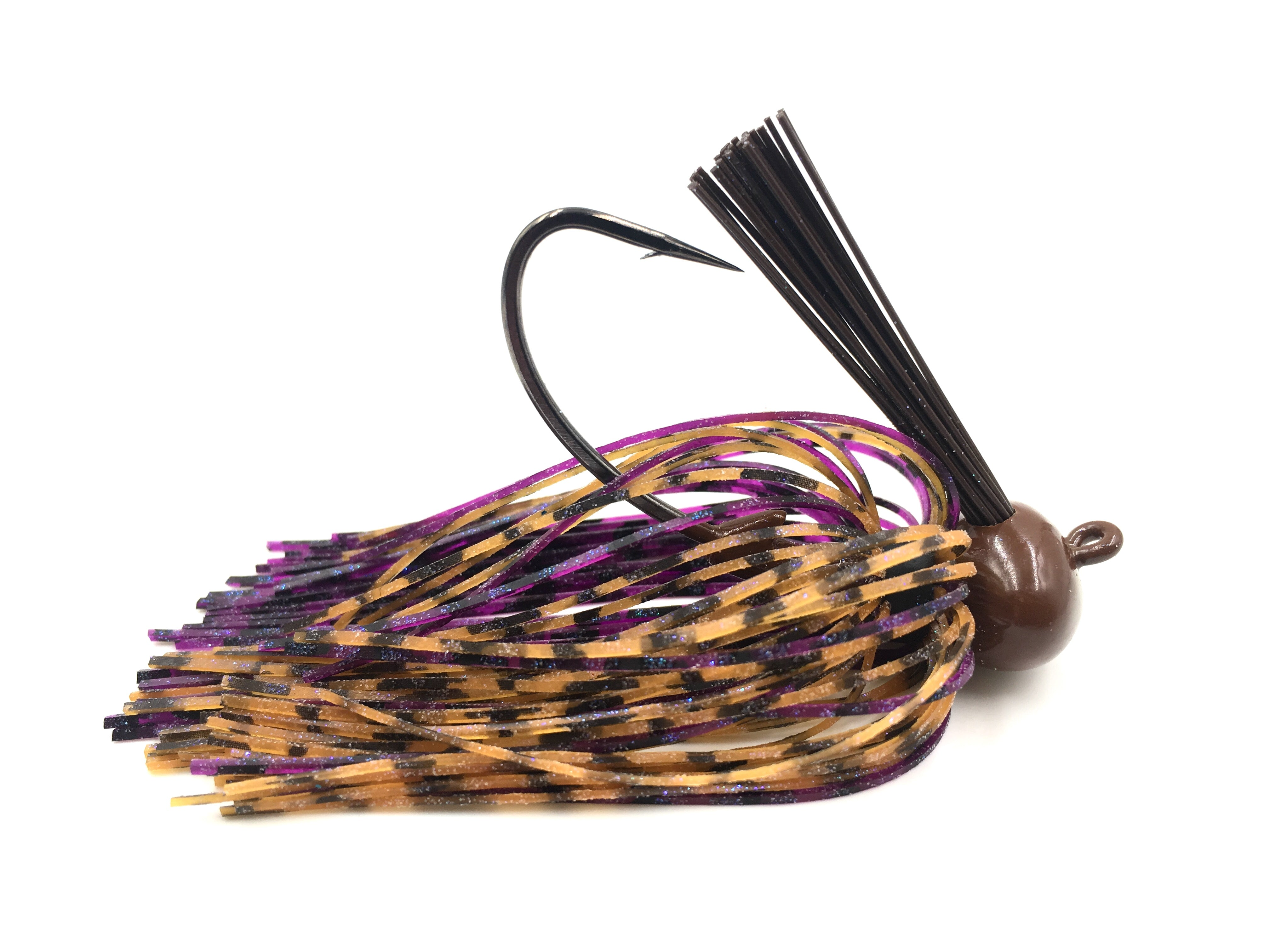 Crock-O-Gator 1/2oz Football Jig 2pk