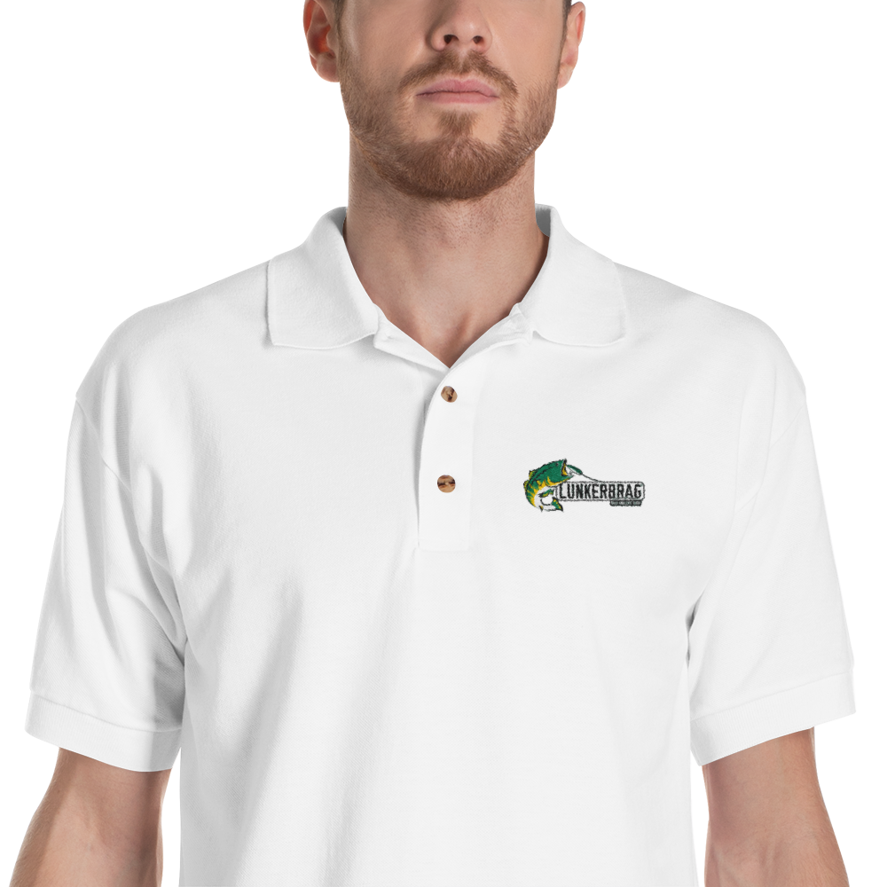Lunkerbrag Embroidered Polo Shirt