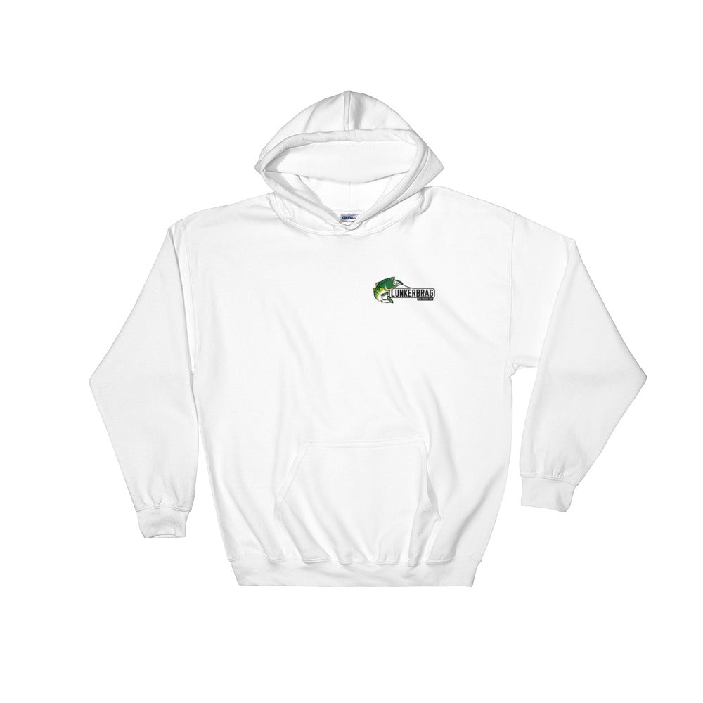 Lunkerbrag Hooded Sweatshirt White
