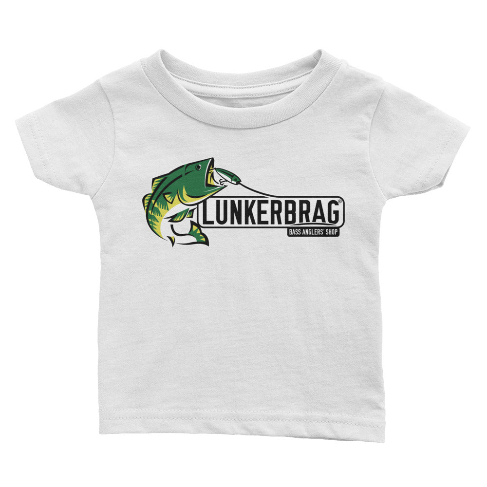 Lunkerbrag Infant Short Sleeve Tee White