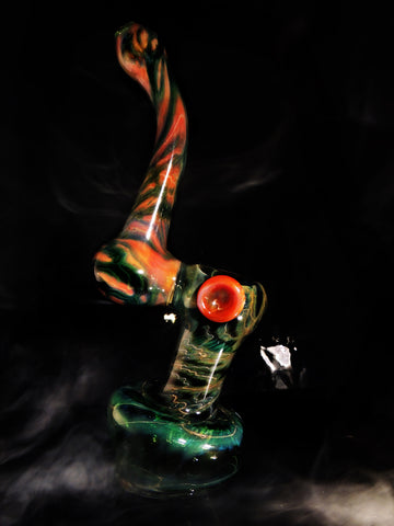 "XLB Glass 10"" Heady Bubbler"