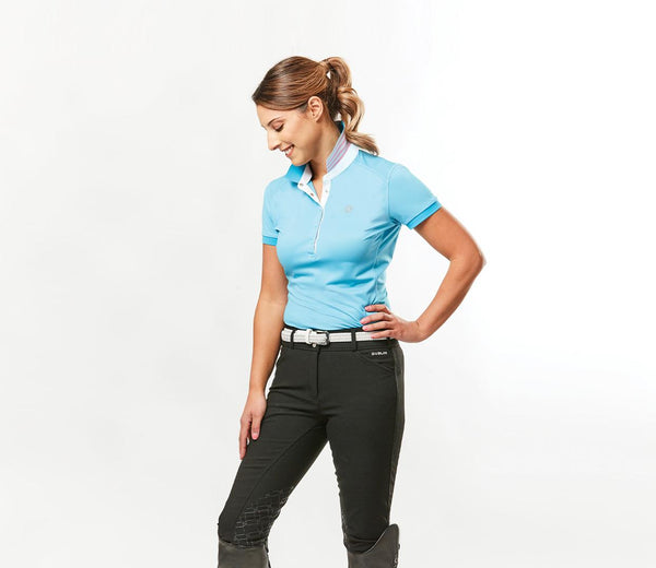 DUBLIN Imogen technical short sleeve polo