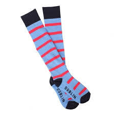 DL Country Boot Socks P/Blue