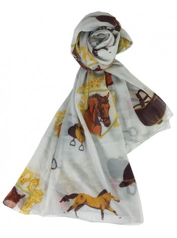 GRAYS Royal scarf