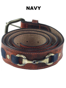 Maple belt 1.5'' Navy 38''