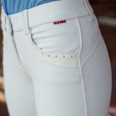 B VERTIGO Denise knee patch breeches