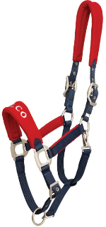ZILCO RED FLEECE HALTER  Full