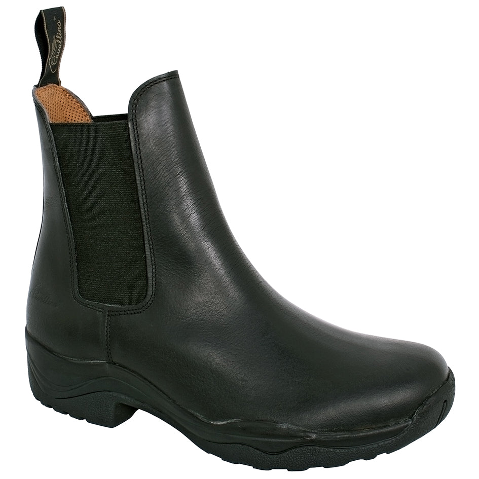 CAVALLINO  LEATHER STABLE BOOT 38