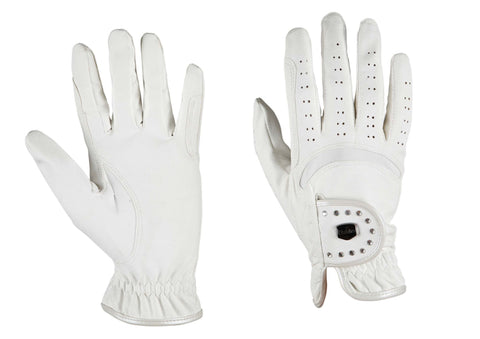 DUBLIN Diamante Patent Dressage Glove