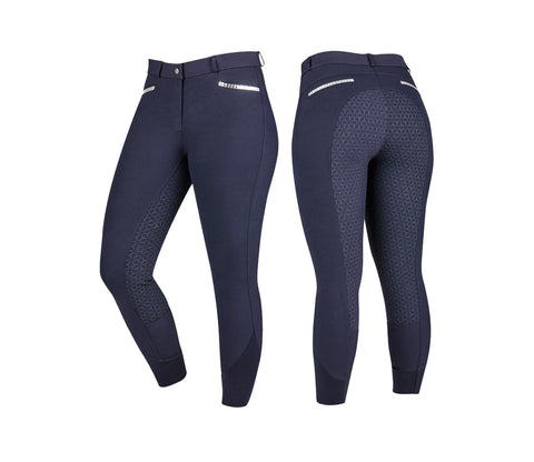 DL Onyx gel breeches NV 12