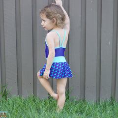 Mermaid Tails One Piece Swimmers - Moocuzzi