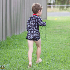 Boys Ninja Swim Shorts - Moocuzzi