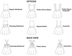 Primrose Pinafore PDF Sewing Pattern - Moocuzzi