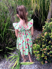 Ivy Flutter Dress - Moocuzzi