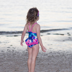 Miranda Ruffled One Piece Swimmers - Moocuzzi
