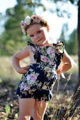 Sweet Pea Shortsuit PDF Sewing Pattern - Moocuzzi