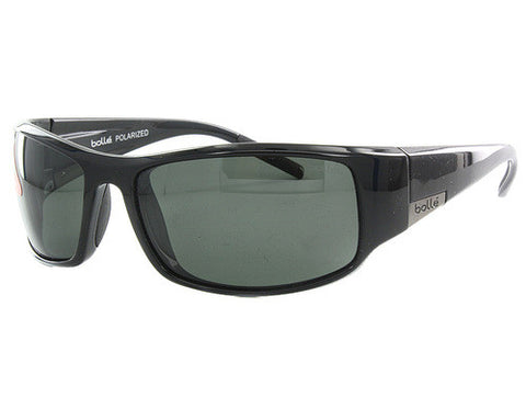 Bolle King BO #10997 Shiny Black Polarized TNS Sunglasses