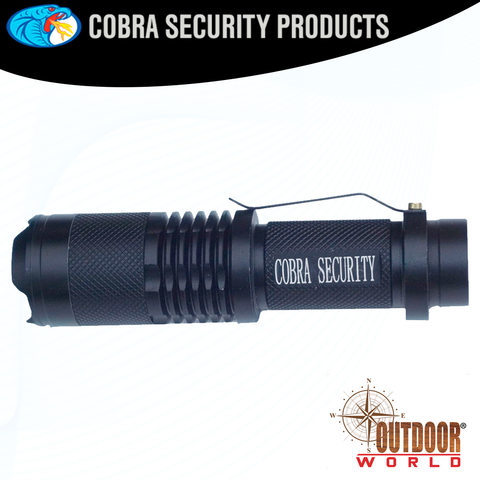 CSP-15N 1000 LUMEN ZOOMABLE FLASHLIGHT