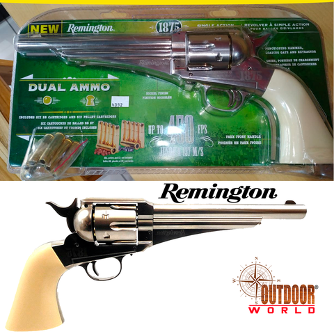 REMINGTON 1875 CO2 DUAL AMMO (.177CAL/4.5MM) REPLICA REVOLVER