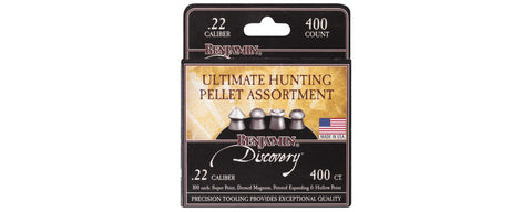 .22 Ultimate Hunting Pellet Assortment 14.3gr (400ct) #22BHPA