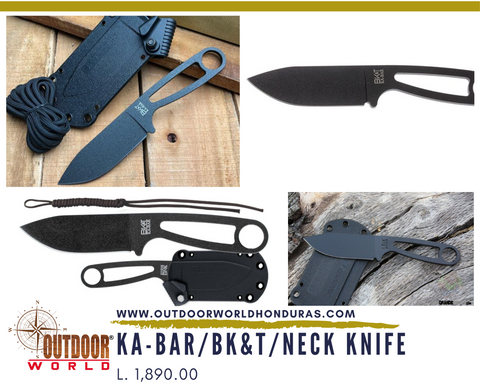 KA-BAR BK&T Neck Knife