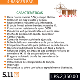 5.11 Tactical #56181 4-BANGER BAG 5L