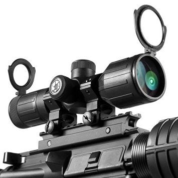Barska #AC11326 3-9x40 IR Contour Scope, Rubber Armored