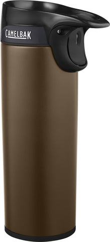 FORGE® TRAVEL MUG 16 OZ, INSULATED STAINLESS STEEL
